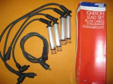 VAUXHALL CAVALIER 1.8,2.0 CARLTON 1.8, 2.0 M4 fittings UNIPART IGNITION LEADS SET